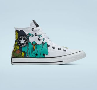 scooby doo x converse, sneakers, all star
