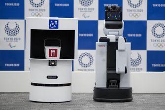 Japan Tokyo Olympics Robots
