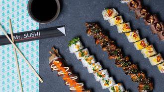 Olympische Spelen Mr Sushi Deliveroo