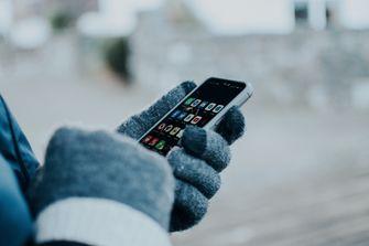 gadgets, sneeuw, sneeuwmachine, handschoenen, touchscreen