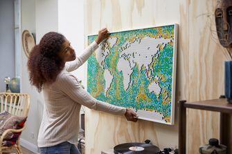 LEGO onthult nieuwe grootste set ooit met imposante wereldkaart