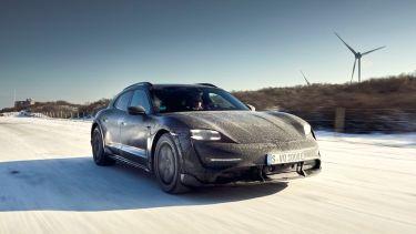 Porsche Taycan Cross Turismo, test
