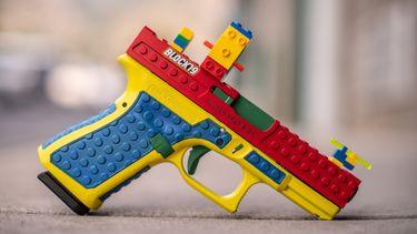 LEGO, block 19, culper precision, werkend pistool, echte kogels
