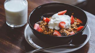 granola, gezonde snacks, workout