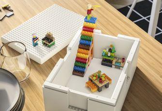 bygglek, lego, ikea, collectie