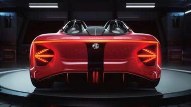 MG Cyberster, elektrische sportwagen