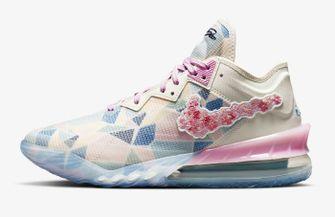 Nike LeBron 18 Low x Atmos Cherry Blossom, sneakers, nieuwe releases, week 21