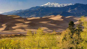 Great Sand Dunes National Park, Colorado, nationale parken, amerika, onbekende