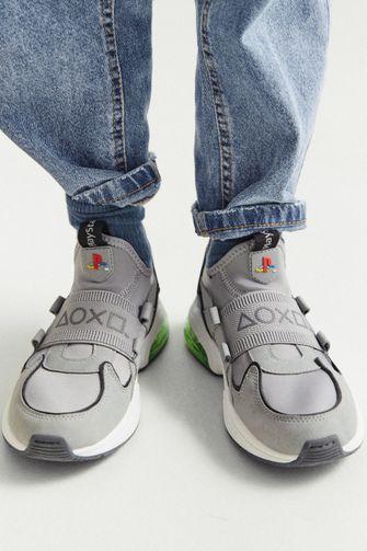 zara, playstation, sneakers