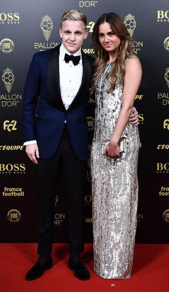 BALLON D'OR gala 2019, best geklede voetballers, donny van de beek