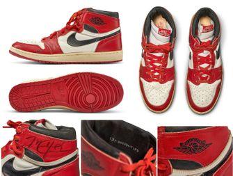 air jordan, aj1, michael jordan, duurste sneakers ooit