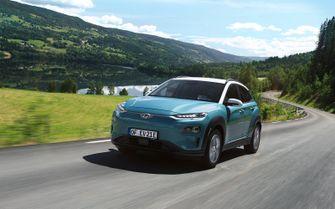 Range elektrische auto Hyundai Kona