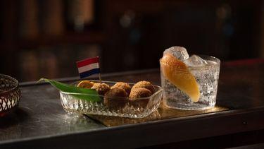 Monkey47, gin, bitterballen, amsterdam