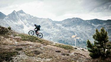 mountainbiken in de alpen, mtb trails