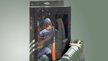 star wars, sneakers, adidas, top ten hi, boba fett