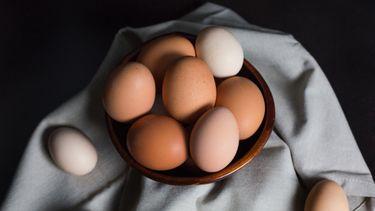 Eieren afvallen