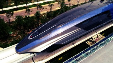 maglev, snelste trein ooit, china, 600 kilometer per uur