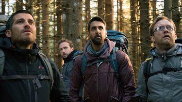 the ritual, netflix original, horror, hiking, backpack, thriller