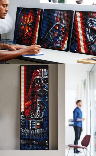 Lego Art series Sith korting