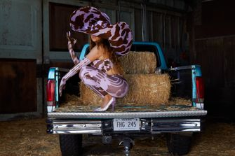 beyoncé, ivy park, rodeo, cowgirl, harper's bazaar, paard