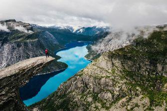 trolltunga, wandelen, hiken, noorwegen