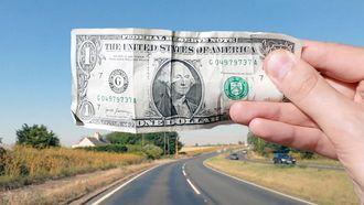visualisatie, 1 miljard dollar, afstand, dikte, briefje, video, youtuber, tom scott