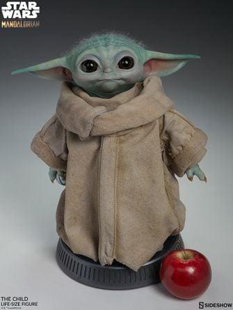 Levensgrote Baby Yoda The Mandalorian Star Wars
