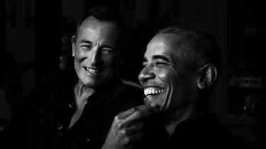 Spotify strikt twee grootste bazen van Amerika voor podcast Barack Obama Bruce Springsteen