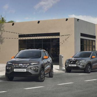 Dacia, Spring, Elektrische, Auto, EV