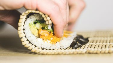 sushi maken, thuis
