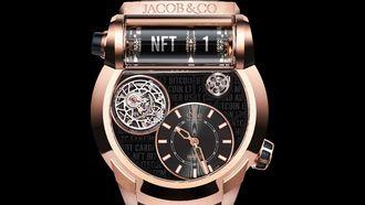 jacob & co, nft, horloge, watch